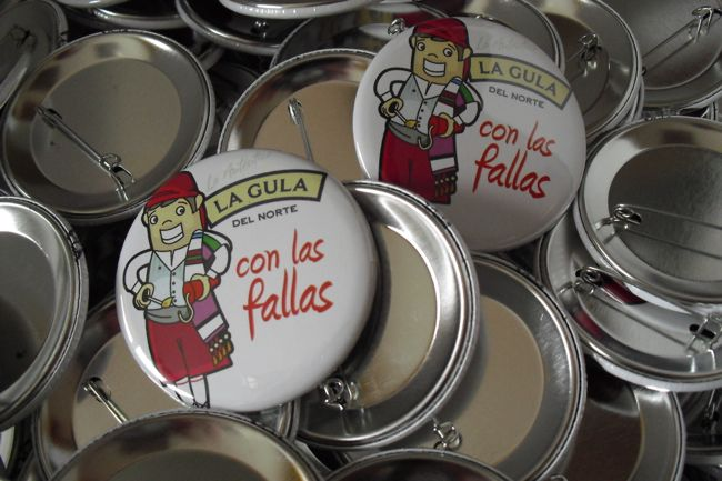 Chapas Qustommize fallas | Qustommize Productos personalizados