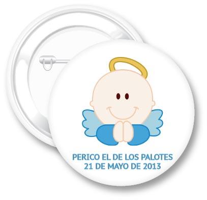 Chapa Bautizo | Qustommize Regalos Personalizados