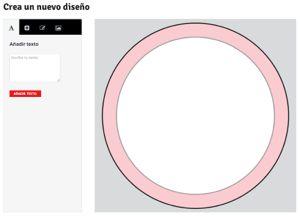 herramienta de creación online @ Qustommize Productos personalizados