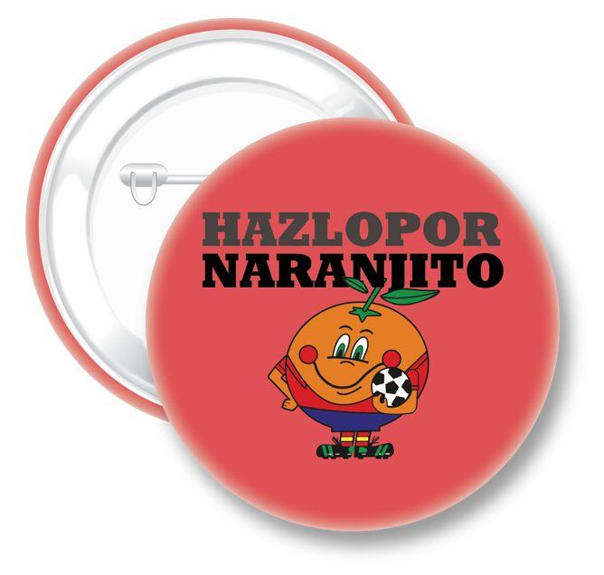 Chapa Naranjito Mundial Brasil | Qustommize Productos personalizados