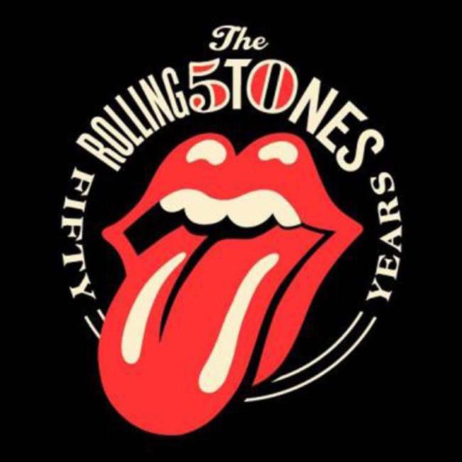 Rolling Stones Rediseño 50 años | Qustommize Productos personalizados