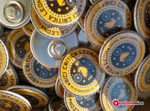 Badge personnalisé avec aimant