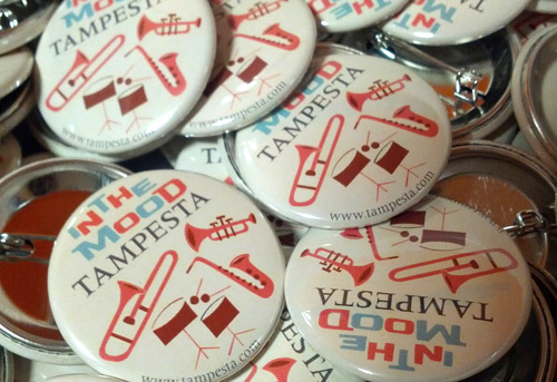 individuelle Ansteck-Buttons