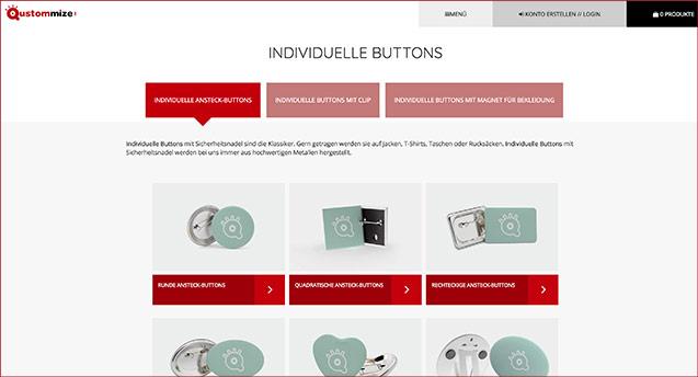 Dein neuer Webauftritt für individuelle Produkte