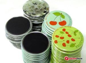 Personalisierte Kühlschrankmagneten aus Metall
