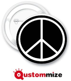 Chapa Símbolo de la Paz | Qustommize Productos Personalizados